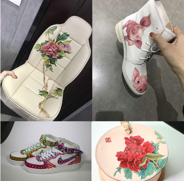 DIY球鞋颜料|球鞋装X的最高境界