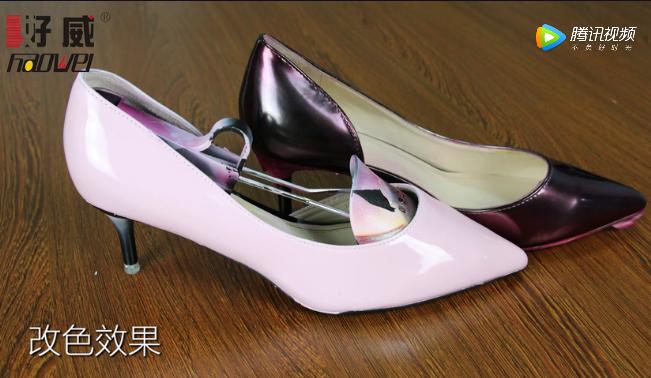 奢侈品皮具护理漆皮浅色包,漆皮鞋串色还原处理方法