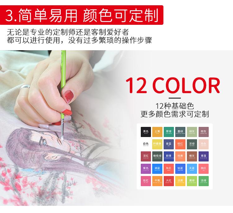 好尔威新品,DIY彩绘颜料,小白鞋神器
